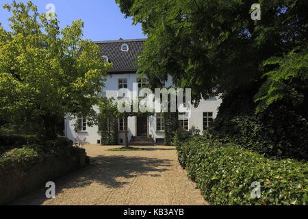 House Traar in Krefeld-Traar, North Rhine-Westphalia, Germany, - Stock Photo