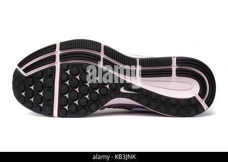 Nike Pegasus 33 soles - Stock Photo