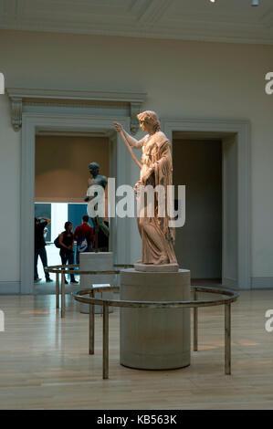 United Kingdom, London, Bloomsbury, British Museum - Stock Photo