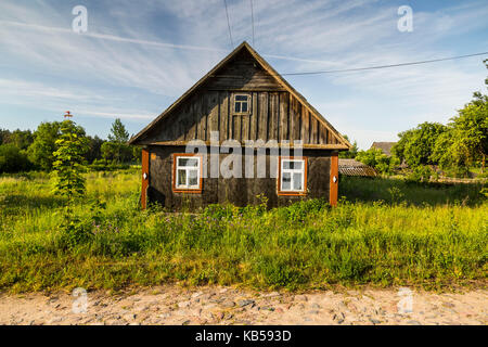 Europe, Poland, Podlaskie Voivodeship, Knyszynska Forest - Stock Photo