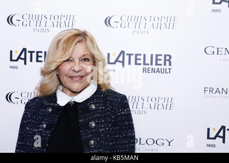 Paris, France. 27th Sep, 2017. Nicoletta attends the Christophe Guillarmé show as part of Womenswear spring / summer - Stock Photo