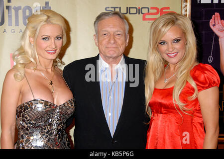 Hollywood, CA, USA. 13th Dec, 2007. 27 September 2017 - Hugh Marston Hefner aka ''Hef'' was an American magazine - Stock Photo