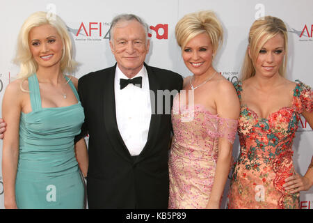 Hollywood, CA, USA. 7th June, 2007. 27 September 2017 - Hugh Marston Hefner aka ''Hef'' was an American magazine - Stock Photo