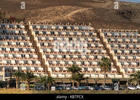 Apartmentanlage in Jandia, Insel Fuerteventura, Kanarische Inseln, Spanien |  Jandia apartments, Fuerteventura, - Stock Photo