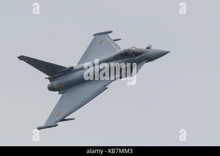 Spanish Air Force Eurofighter EF 2000 Typhoon - Stock Photo