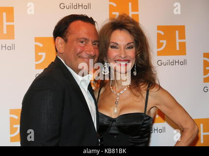 Celebrity Autobiography Guild Hall 2017  Featuring: Eugene Pack, Susan Lucci Where: East Hampton, New York, United - Stock Photo