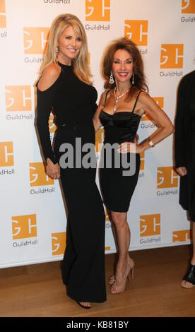 Celebrity Autobiography Guild Hall 2017  Featuring: Christie Brinkley, Susan Lucci Where: East Hampton, New York, - Stock Photo