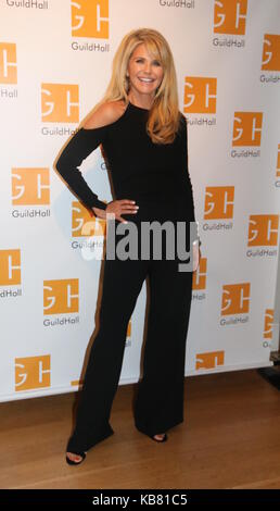 Celebrity Autobiography Guild Hall 2017  Featuring: Christie Brinkley Where: East Hampton, New York, United States - Stock Photo