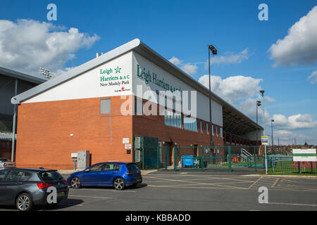 Leigh Harriers & AC running club & Stadium at Leigh sports village, Leigh, England, UK - Stock Photo