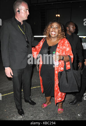 Strictly Come Dancing 2017 launch - Outside  Featuring: Chizzy Akudolu Where: London, United Kingdom When: 28 Aug - Stock Photo