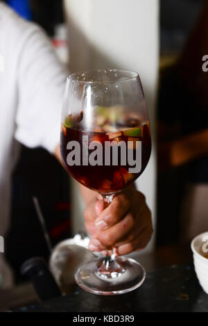 cocktail wine - Stock Photo