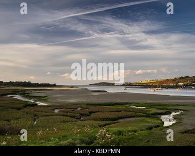 River Teifi estuary, St Dogmaels - Stock Photo