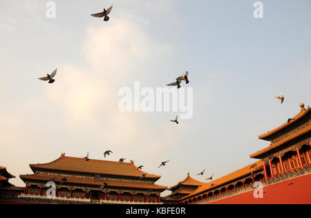 Beijing, Beijing, China. 30th Sep, 2017. Beijing, CHINA-30th September 2017: (EDITORIAL USE ONLY. CHINA OUT).The - Stock Photo