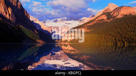 Lake Louise and the Victoria Glacier, Banff National Park, Alberta, Canada