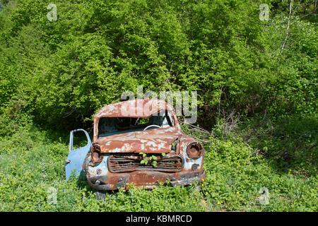 interior truck vintage antique car auto stock photo 58584751 alamy. Black Bedroom Furniture Sets. Home Design Ideas
