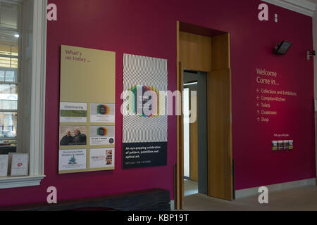 Compton Verney art gallery, Warwickshire UK - Stock Photo