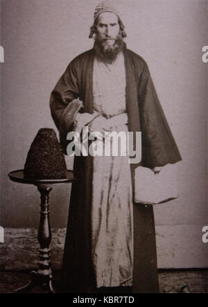 Rabbin, a Jew from Imereti (Ermakov) - Stock Photo