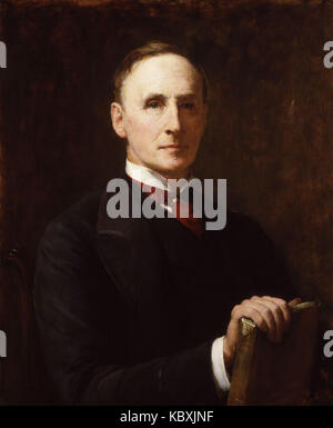 John Morley, 1st Viscount Morley of Blackburn by Walter William Ouless - Stock Photo