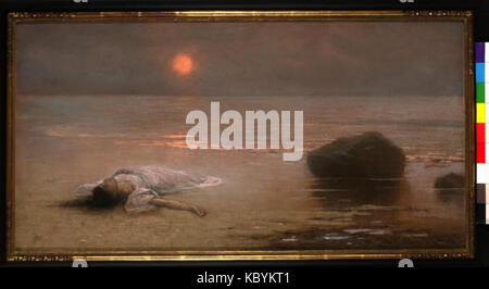 Jakub Schikaneder 27. 2. 1855 15. 11. 1924   Utonula - Stock Photo