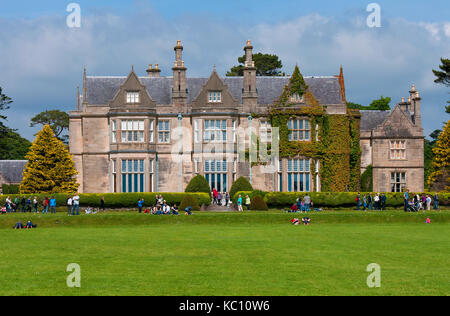 Muckross House and Gardens, Killarney National Park, County Kerry, Ireland - Stock Photo