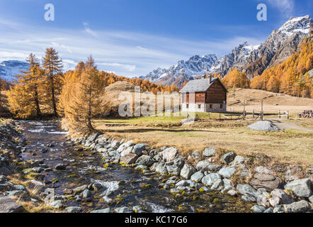 Italy,Piedmont,Devero alp,Alpe Devero - Stock Photo