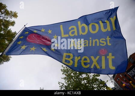 Brexit March, Manchester - Stock Photo