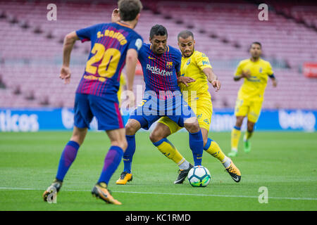 Barcelona, Spain. 1st October, 2017.  Paulinho during the match between FC Barcelona against Las Palmas, for the - Stock Photo