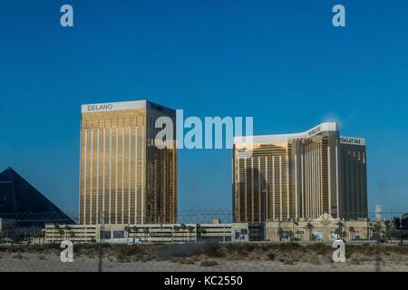 FILE: Las Vegas, Nevada, USA. 2nd October, 2017. Las Vegas festival shooting near Mandalay Bay. File image of Mandalay - Stock Photo