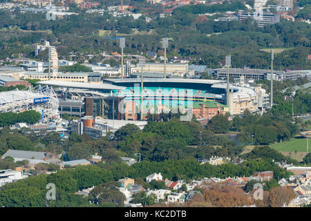 Aerial View Of Sydney Olympic Park