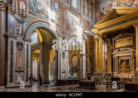 Archbasilica of St  John Lateran in Rome - Stock Photo