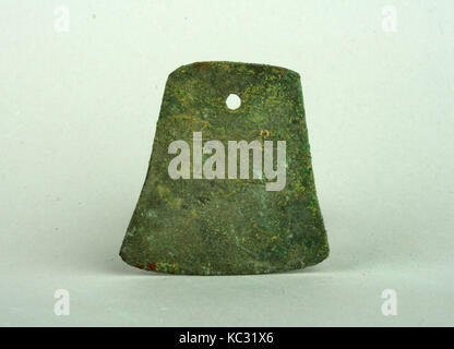 Bell-Shaped Copper Dangle, 3rd century B.C.–A.D. 2nd century - Stock Photo