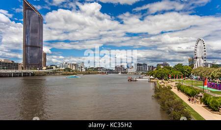 Brisbane Southbank Parklands Australia - Stock Photo