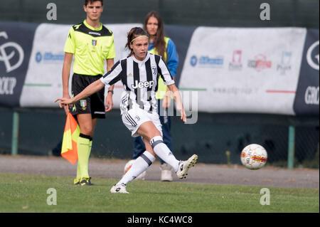 Mozzanica, Italy. 30th Sep, 2017. Cecilia Salvai (Juventus) Football/Soccer : Italian Women's Serie A match between - Stock Photo