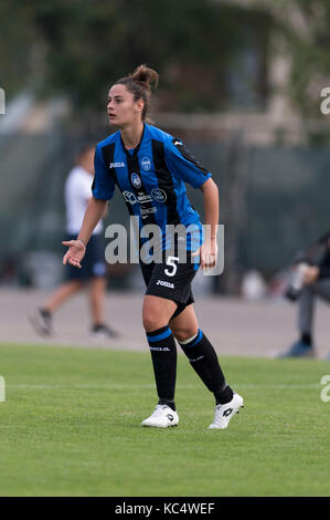 Mozzanica, Italy. 30th Sep, 2017. Eleonora Piacezzi (Mozzanica) Football/Soccer : Italian Women's Serie A match - Stock Photo