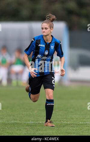 Mozzanica, Italy. 30th Sep, 2017. Valeria Monterubbiano (Mozzanica) Football/Soccer : Italian Women's Serie A match - Stock Photo