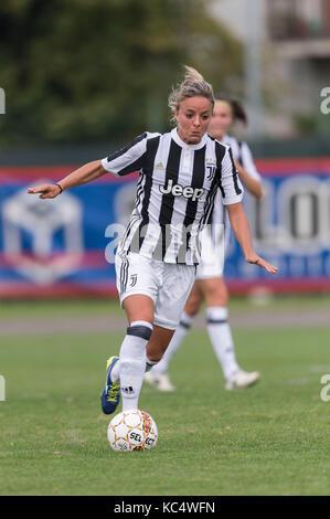 Mozzanica, Italy. 30th Sep, 2017. Martina Rosucci (Juventus) Football/Soccer : Italian Women's Serie A match between - Stock Photo