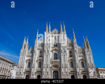 Milan Cathedral, Duomo di Santa Maria Nascente, Milan, Lombardy, Italy, Europe - Stock Photo