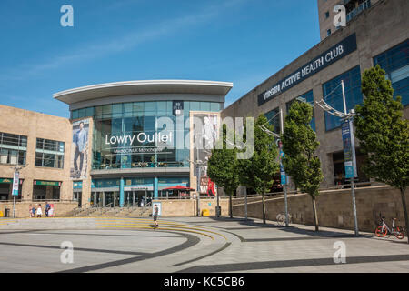 Lowry Outlet Mall in Salford Quays, England. - Stock Photo