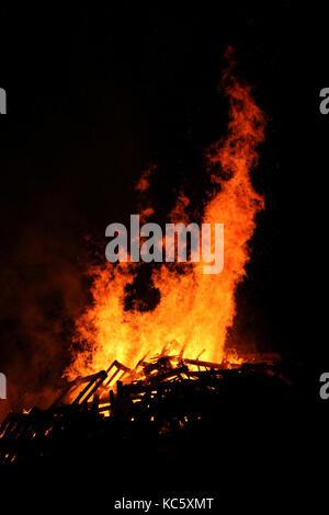 Bonfire night - Stock Photo