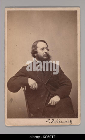 John Frederick Kensett, George Gardner Rockwood, 1860s - Stock Photo
