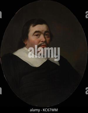 Portrait of a Man, Bartholomeus van der Helst, 1647 - Stock Photo