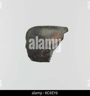 Fragmentary stone axe, Neolithic, 5th–3rd millennium B.C., Greek Neolithic, Stone, L. 2 1/2 in. (6.3 cm.), Miscellaneous - Stock Photo