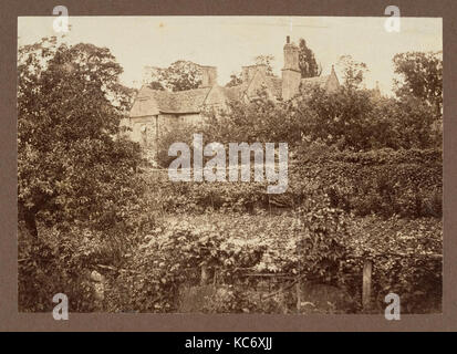 Kelmscott Manor from the Garden, Frederick H. Evans, 1896 - Stock Photo