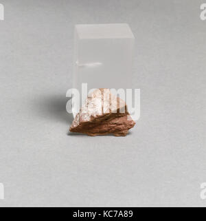 Vase fragment, Greek, Lydian, Terracotta, Overall: 1 3/8 x 1in. (3.5 x 2.5cm), Vases - Stock Photo