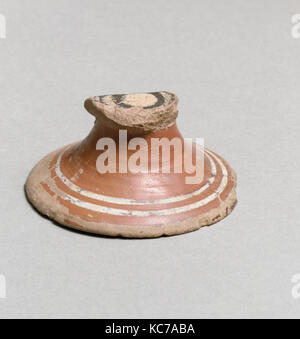 Vase fragment, East Greek/Sardis, Lydian, Terracotta, Other: 2 5/8in. (6.7cm), Vases - Stock Photo