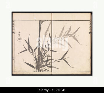 Sketches Reproduced from Works of Famous Artists, Kawanabe Kyōsai, 1814 - Stock Photo