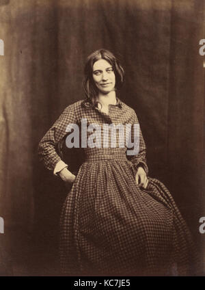 Patient, Surrey County Lunatic Asylum, Hugh Welch Diamond, 1850–58 - Stock Photo