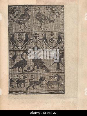 Ornamento delle belle & virtuose donne, page 21 (recto), 1554 - Stock Photo