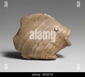 Ointment vase in the shape of a bulti fish, ca. 1900–1500 B.C - Stock Photo