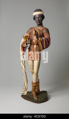 Caspar of the Three Kings from an Adoration Group, before 1489 - Stock Photo